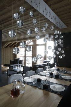 Chalet courchevel décoration prestige luxe montagne