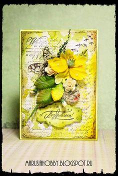 Marusia's blog: Вторая открытка пошла!