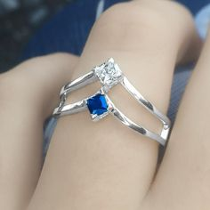 Is spending time with loved ones the high point of your day? Carry them with you wherever you go with your own Peaks and Valleys Geometric Ring personalized with princess-cut birthstones. This glittering ring is a modern fashion-forward option as a promise ring mother's ring or couples ring.  On sale today as part of our Cyber Monday sale!
