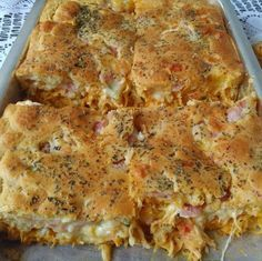 Image may contain: food Food N, Food And Drink, Carbohydrates Food List, Pork Recipes, Healthy Recipes, Creamy Pasta Recipes, Food Lists, Quiche, Brunch