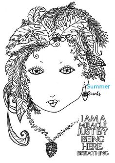 Printable 'I Am A Miracle' ForestBaby Design