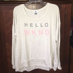 Old navy long sleeve Size XL NWOT very soft shirt Old Navy Tops Tees - Long Sleeve