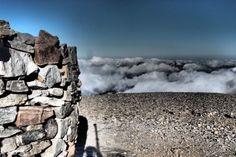 Wandern zum Psiloritis Berg auf Kreta