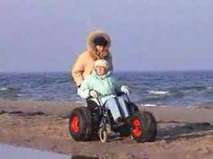 3. beach conversion kit for wheelchairs