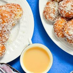 Our grandmother (Mama) used to make these delicious koeksisters, South African donuts covered in syrup and coconut. Koeksister Recipe South Africa, Cake Recipes, Dessert Recipes, Desserts, Koeksisters Recipe, South African Recipes, Ethnic Recipes, African Dessert, Condensed Milk Recipes