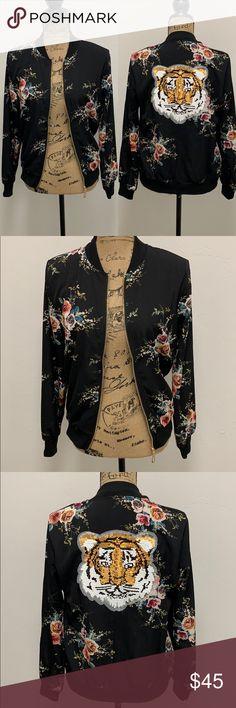 25 Best Floral bomber jacket images   Floral bomber jacket
