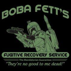 Boba Fett's Fugitive Recovery Service