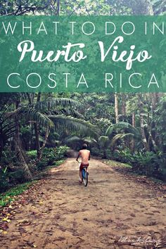 Puerto Viejo is a charming and chilled out beach town on Costa Rica's Caribbean coast, just north of the Panamanian border. Here are the best things we did in our four-day stay. | The Mochilera Diaries