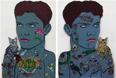 Auckland artist Sam Mitchell