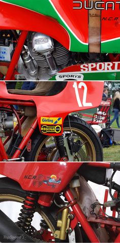 Mike Hailwood's 1978 TT winning Ducati 900