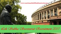 DEGREE JOBS  Lok Sabha Secretariat-recruitment-10 vacancies-Parliamentary Interpreter Grade-II-Pay Scale : Rs. 15600-39100/-Apply Now-Last Date 15 March 2017  Advt. No. : 02/2017  Job Details :  Post Name : Parliamentary Interpreter Grade-II No of Vacancy : 20 Posts Pay Scale : Rs. 15600-39100/- Grade Pay : Rs. 5400/- Eligibility Criteria :  Educational Qualification :