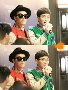 Hae with Teuk