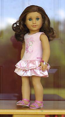 Captivating-American-Girl-Doll-Custom-Rebecca-Caroline-w-aquamarine-eyes-OOAK