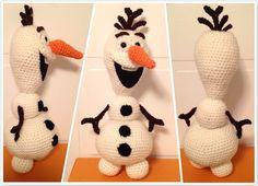 Amigurumi Patterns Olaf : Frozen crochet pattern lots of great ideas you ll love olaf