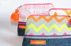 cosmetic bags;