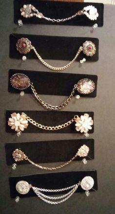 Accesorios Palomita Diy Jewelry, Jewelery, Jewelry Accessories, Fashion Accessories, Jewelry Making, Fashion Details, Diy Fashion, Vintage Fashion, Vintage Fur