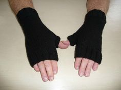 Fingerless Mitts, Drops Design, Arm Warmers, Glamour, Knitting, Bonnets, Decoration, Fashion, Tricot Crochet