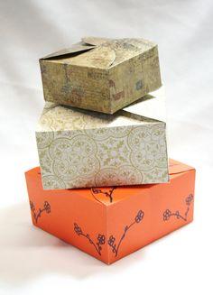 DIY Box Gift Box Paper Box Box Template Printable by TRLTJewelry, $2.00