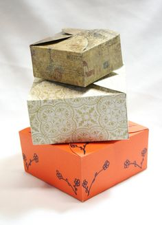 DIY Box Gift Box Paper Box Box Template Printable by TRLTJewelry, $2.00