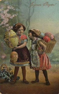 alte Oster Grußkarte
