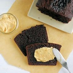 Double Chocolate Loaf with Peanut Butter Cream Cheese - morning ...