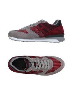 HOGAN REBEL Men's Low-tops & sneakers Coral 10.5 US