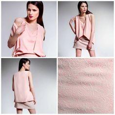Discover our summer Texture! Sleeveless Blazer, Spring Summer 2015, Pink Tops, Texture, Women, Fashion, Surface Finish, Moda, Sleeveless Jacket