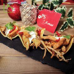 Wrapbootjes met pittige kalkoensalade | Koolhydraatarme recepten PowerSlim kerst fase 1