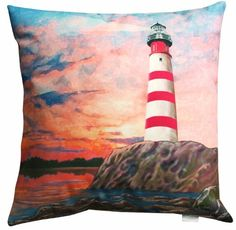 Manual Woodworkers and Weavers Climaweave Indoor/Outdoor Throw Pillow