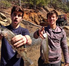 Nash Grier and Cameron Dallas.❤️