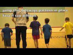 Speed Agility Ladder Drills Exercises: Scissors Football Ladder Drills & Ladder Workout - YouTube