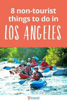 "Los Angeles Travel.  We all know what the ""touristy"" attractions are in LA, California. Do those attractions, then here's 8 non-touristy things to do in Los Angeles you probably haven't heard of. #LosAngeles #California #LA #traveltips #travel"