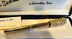 "Vintage UNUSED/ORIGINAL BOX~ CRYSTAL TOP ""Scent Sation Perfume Pen"" KOSMETOS"
