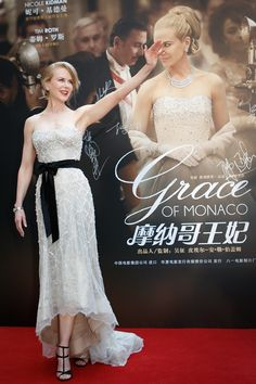 Playing the title character in the upcoming film Grace of Monaco, actress Nicole Kidman had very little work to do with her fashion transformation.