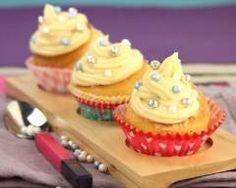 Cupcakes caramel et beurre salé, perles croustillantes (facile, rapide) - Une recette CuisineAZ