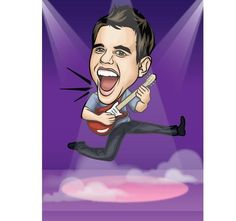 Be the star that you are....with Caricature art!