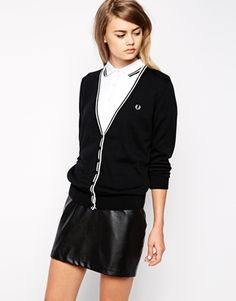 Fred Perry Tipped Cardigan