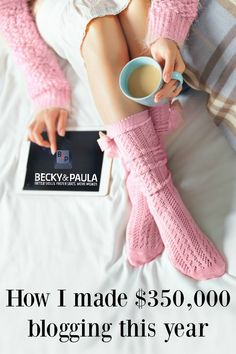 $350,000 a year blogging - practical tips This is how a work from home mom can make $350,000 a year... it's not just her she breaks it down so that everyone can have a chance to do it too!