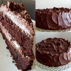 Devils chocolate cake Jag skulle bjuda på lite fika och kände för att baka en tårta. Då fika gästerna älskar choklad föll det på en Devil's Chocolate cake. En mäktig tårta med enbart choklad smaker…