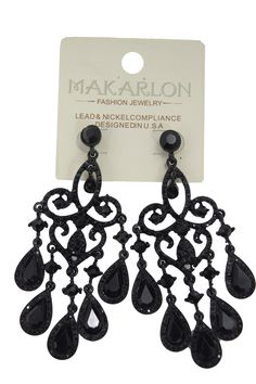 Crystal teardrop chandelier earrings | Red carpets, Earrings and Ships