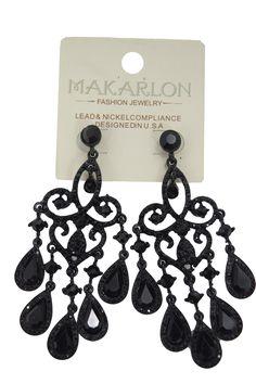 Crystal teardrop chandelier earrings | Red carpets, Earrings and Ships