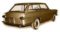 1962 Fiat 1500 COUNTRY SPORT SHOOTING BREAK - design by Frua; built by Carrozzeria Francis Lombardi.