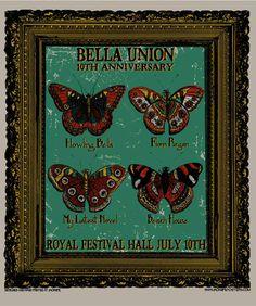 GigPosters.com - Bella Union