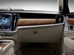 Volvo S90 Interior - IP and glove box