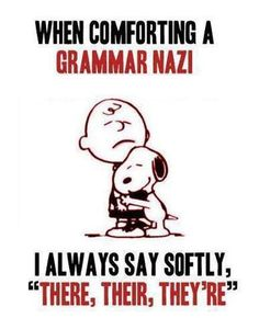 Grammar Nazi @Jocelyn Cartmel , to help you study for your level 300 grammar course. http://roflburger.com