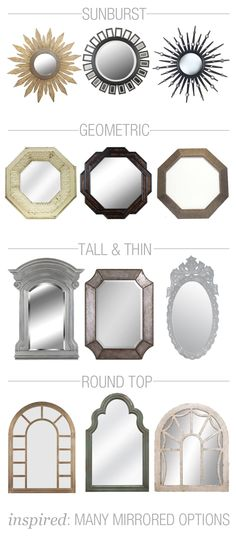 What's your favorite style of mirror?