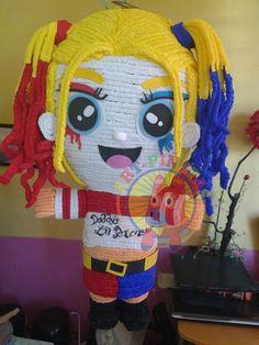 Harley Quinn piñata.