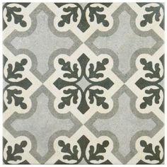 Merola Tile Vintage Ruzafa 9-1/2 in. x 9-1/2 in. Porcelain Floor and Wall Tile (10.76 sq. ft. / case)-FCD10VTR - The Home Depot