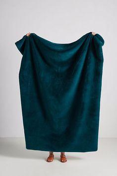 Sophie Faux Fur Throw Blanket by Anthropologie in Blue, Throws Teal Throw Blanket, Faux Fur Blanket, Faux Fur Throw, Throw Blankets, Christmas Gifts For Mom, Christmas 2019, Sporty Fashion, Ski Fashion, Fashion Women