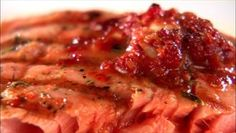 Coast to Coast Barbecue - Grilled Salmon with Sun-Dried Tomato Butter